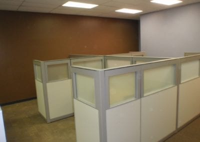 used office partitions