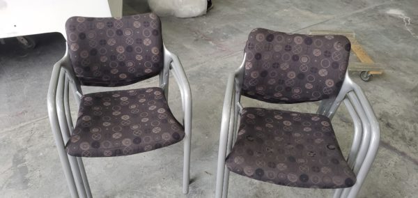used stackable chairs
